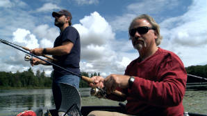 WPBS: Fishing Behind The Lines Episode #207 Roger Graham (Retired Army Pilot) and Rod Kester (Retired Army) Active - Life Net Pilot and Flight Nurse