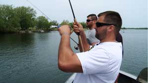 WPBS: Fishing Behind The Lines Episode 308-309