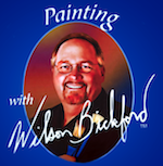 Painting with Wilson Bickford