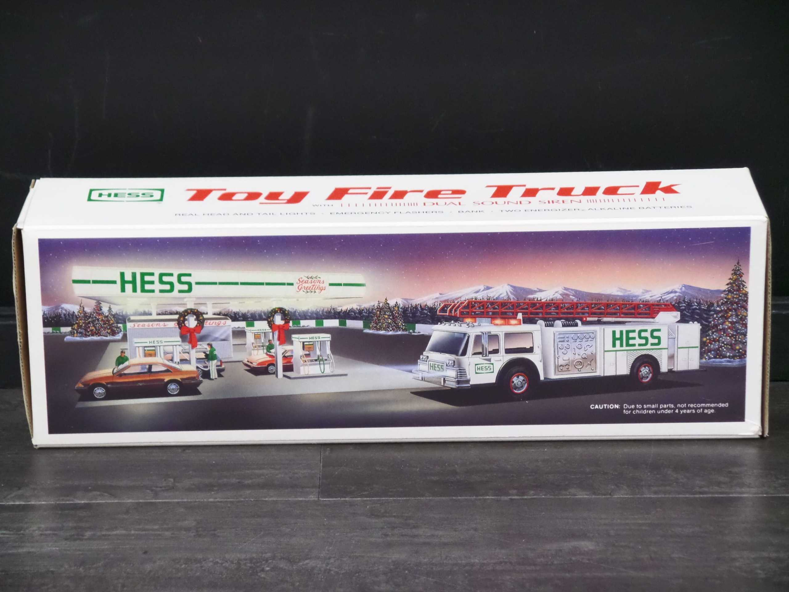 1989 HESS FIRETRUCK <br/> Donated by: WPBS SUPPORTER <br/> Buy It Now: $30
