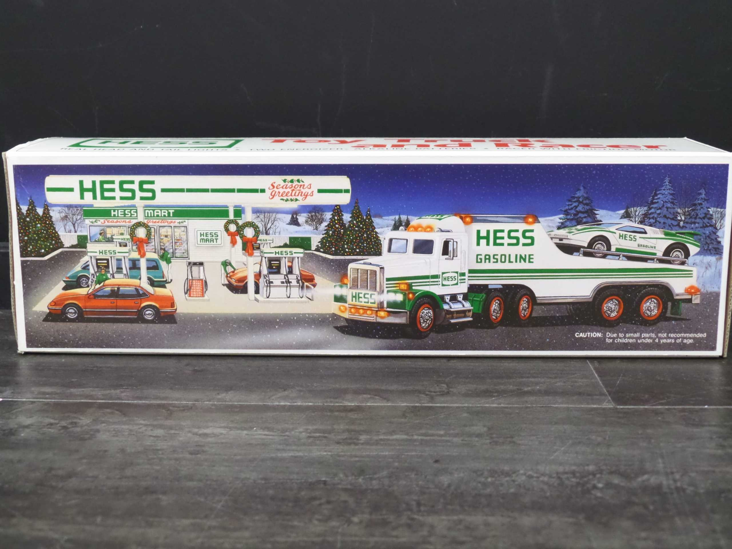 1991 HESS TRUCK AND RACER  Donated by:  WPBS SUPPORTER  Buy It Now: $44