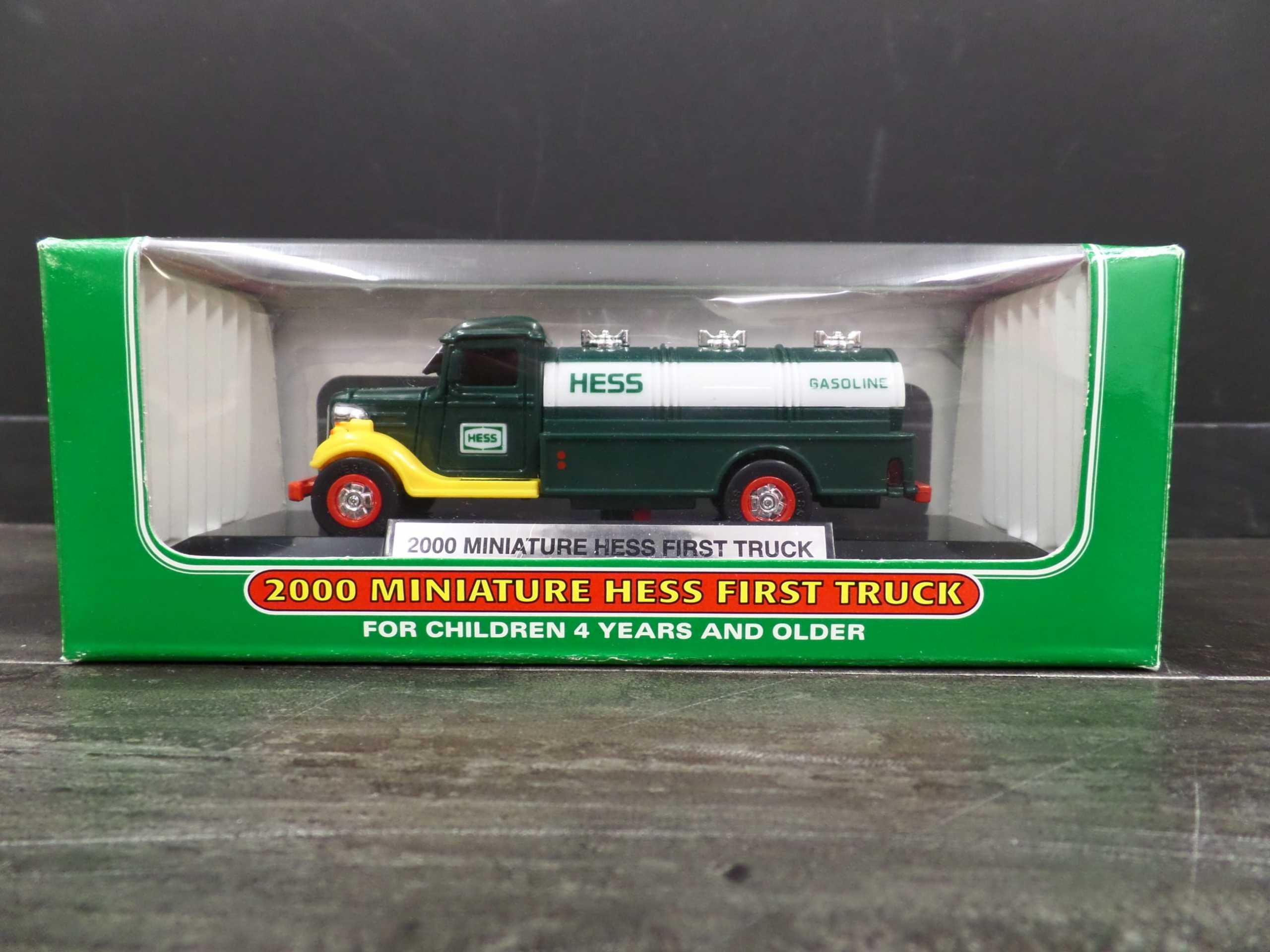 2000 MINI HESS GAS TANKER <br/> Donated by: WPBS SUPPORTER <br/> Buy It Now: $15