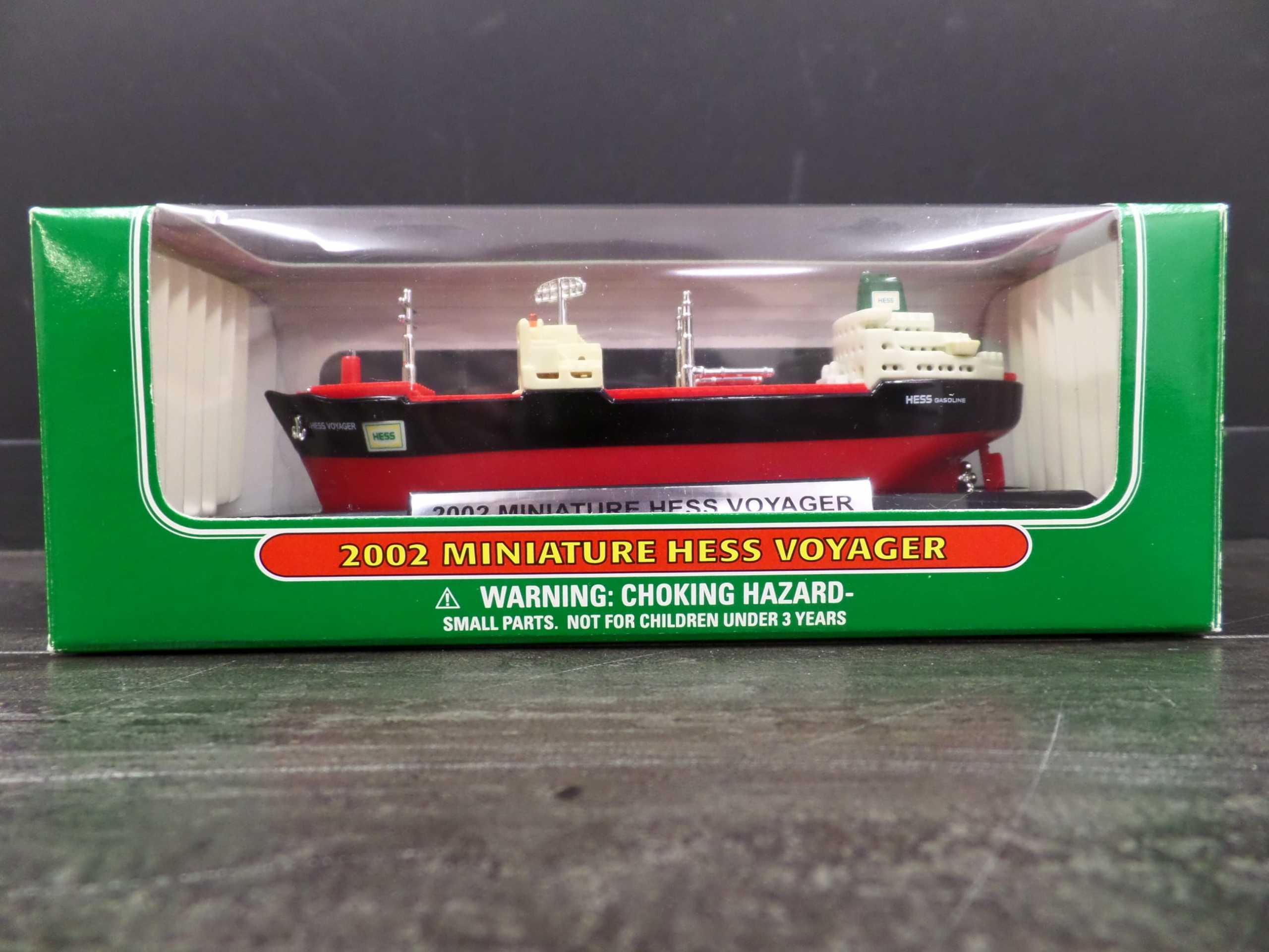 2002 MINI HESS VOYAGER SHIP  Donated by: WPBS SUPPORTER  Buy It Now: $15