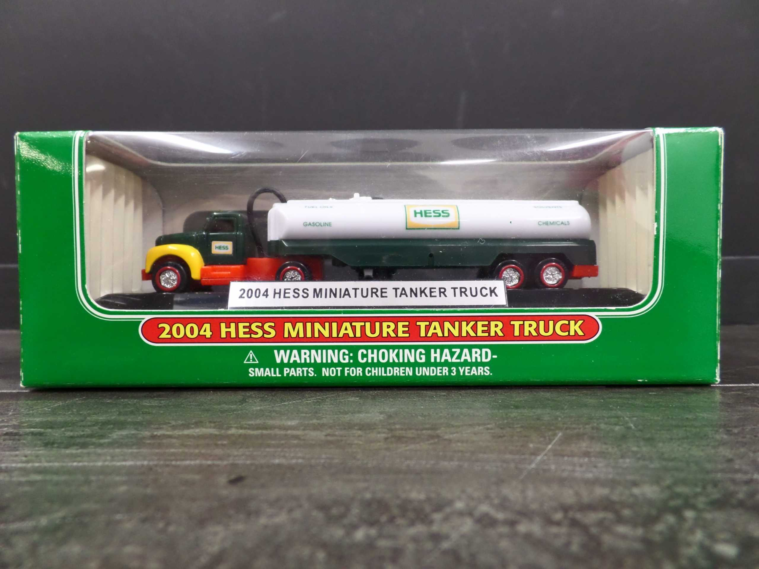 2004 MINI HESS TANKER TRUCK <br/> Donated by: WPBS SUPPORTER <br/> Buy It Now: $18