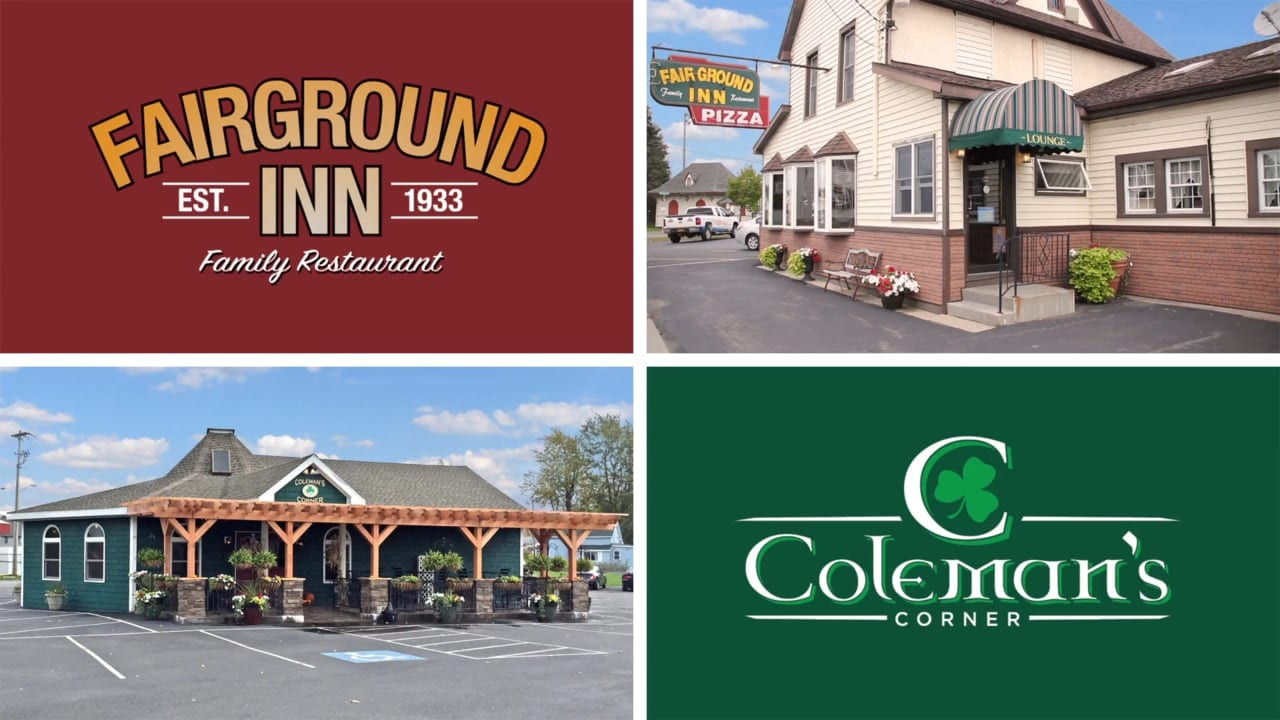 GIFT CERTIFICATE  Donated by: FAIRGROUND INN & COLEMAN'S CORNER  Valued at: $50
