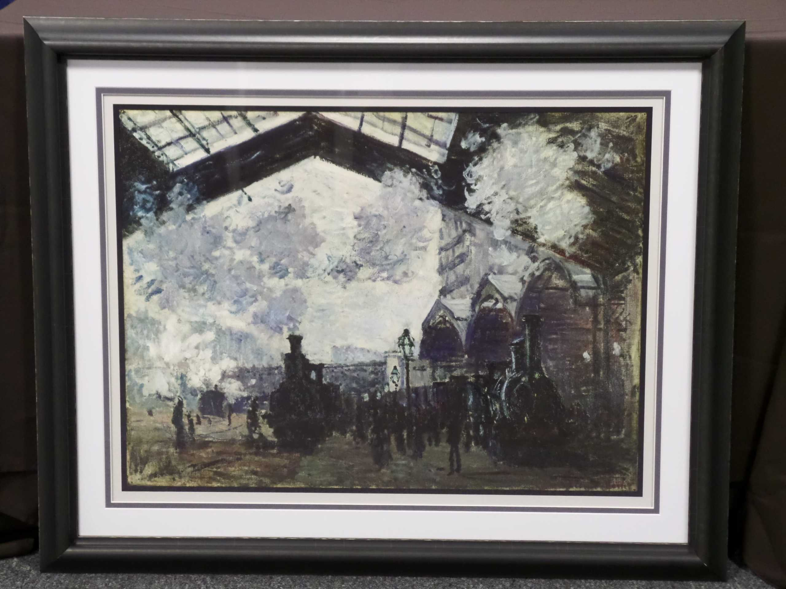 CUSTOM FRAMED MONET PRINT  Donated by: TIMELESS FRAMES  Valued at: $1,844 Buy It Now: $150