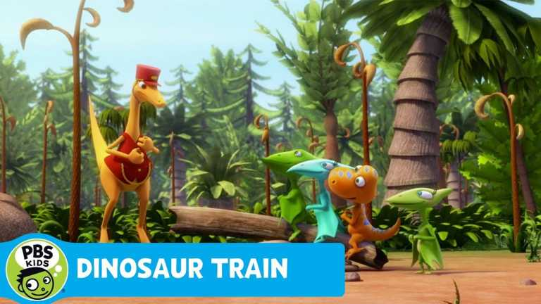 DINOSAUR TRAIN   Where Have All The Lizards Gone?   PBS KIDS