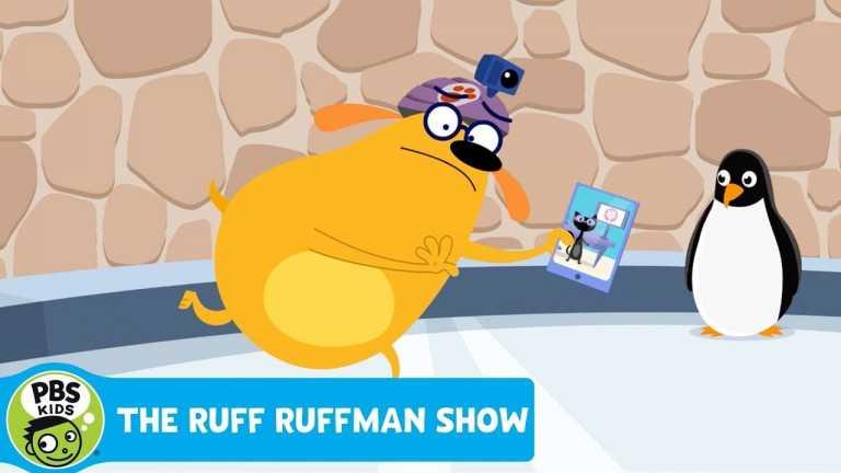 THE RUFF RUFFMAN SHOW | Plushie on Ice! | PBS KIDS