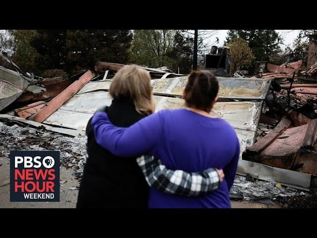 Paradise rebuilds a year after the Camp Fire