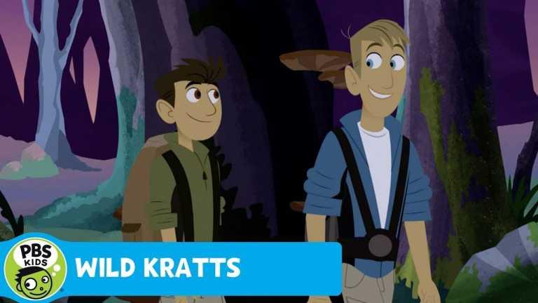 WILD KRATTS | Campfire! | PBS KIDS