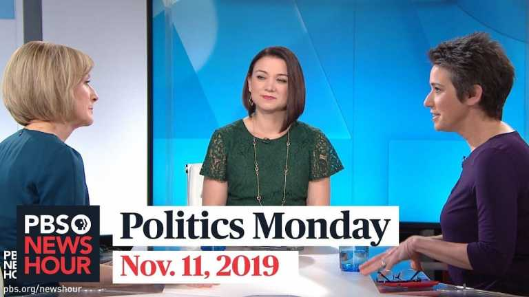 Tamara Keith and Amy Walter on public impeachment hearings, Bloomberg's possible 2020 bet