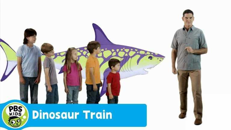 DINOSAUR TRAIN | Dinosaur Discoveries: Sharks | PBS KIDS