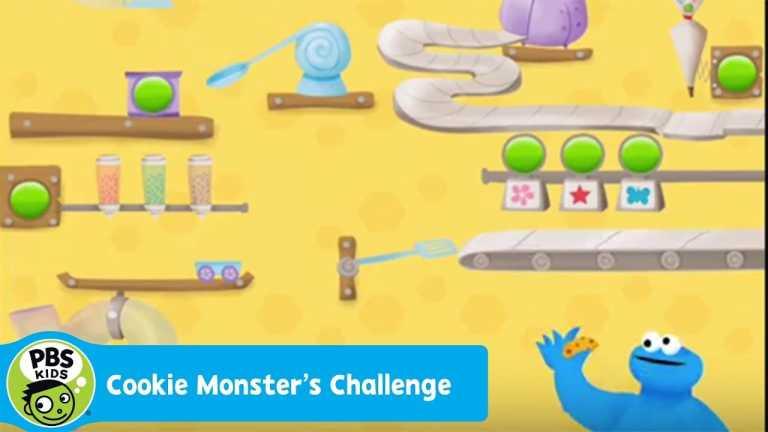 APP | Cookie Monsters Challenge | PBS KIDS