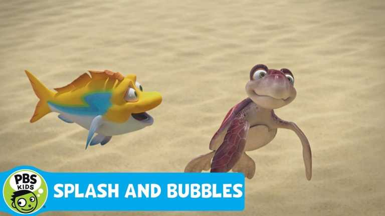 SPLASH AND BUBBLES | Magnetic Reception | PBS KIDS