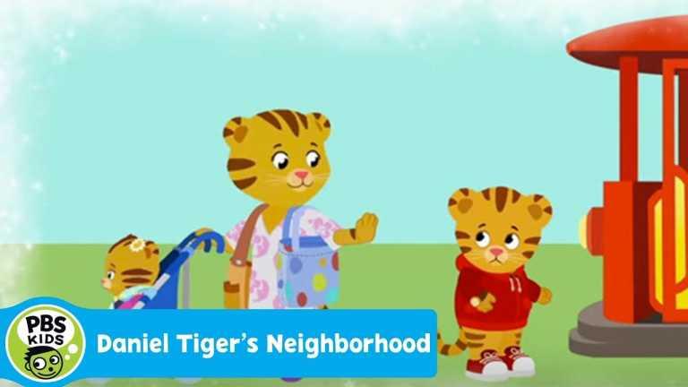 DANIEL TIGER'S NEIGHBORHOOD | Daniel Wants to Ride Trolley (Song) | PBS KIDS
