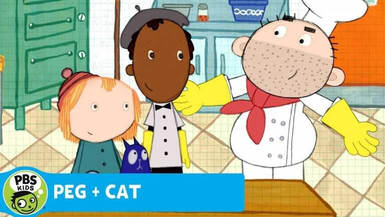 PEG + CAT   Peg's Pizza Parlor   PBS KIDS
