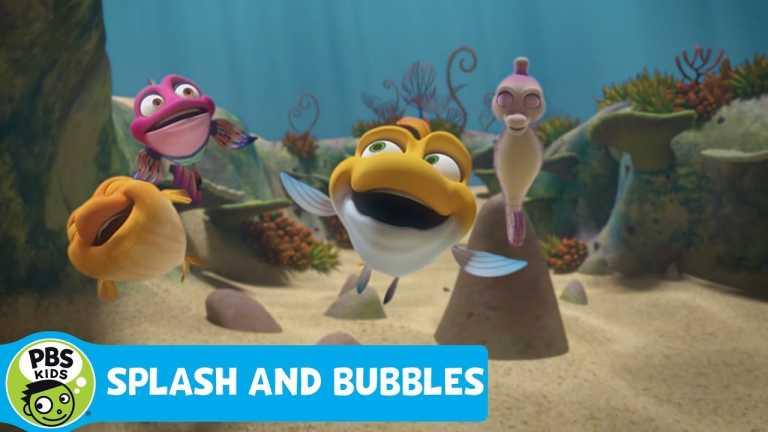 SPLASH AND BUBBLES | He's Super Splash! | PBS KIDS