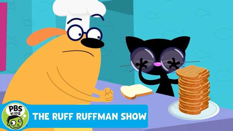 THE RUFF RUFFMAN SHOW | The Cook-off Part 2: How to Un-toast Toast | PBS KIDS