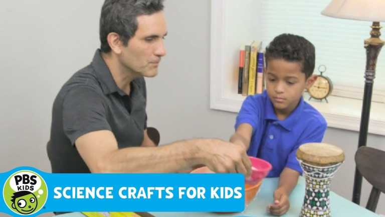 SCIENCE CRAFTS for KIDS   Sound Waves   PBS KIDS for PARENTS