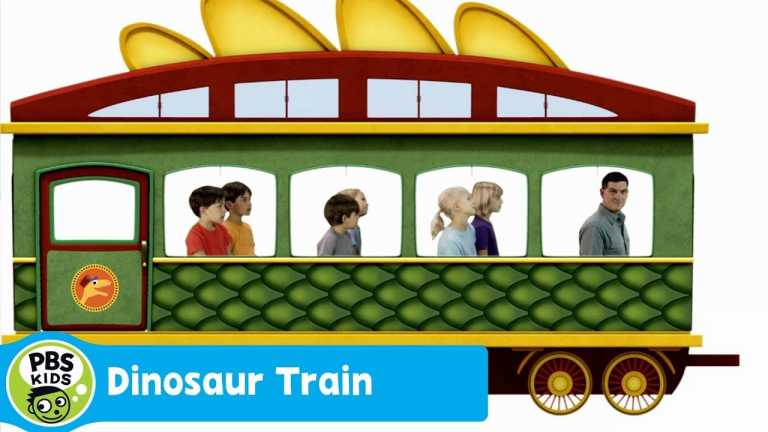 DINOSAUR TRAIN | Dinosaur Discoveries: Trains | PBS KIDS
