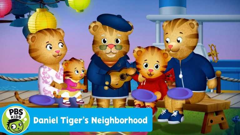"""DANIEL TIGER'S NEIGHBORHOOD   """"All of Us Together"""" Song   PBS KIDS"""