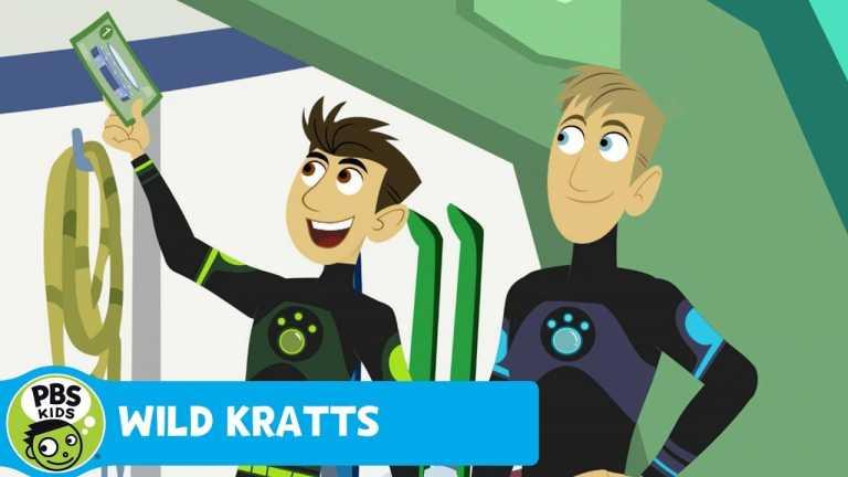 WILD KRATTS | Time Thruster | PBS KIDS