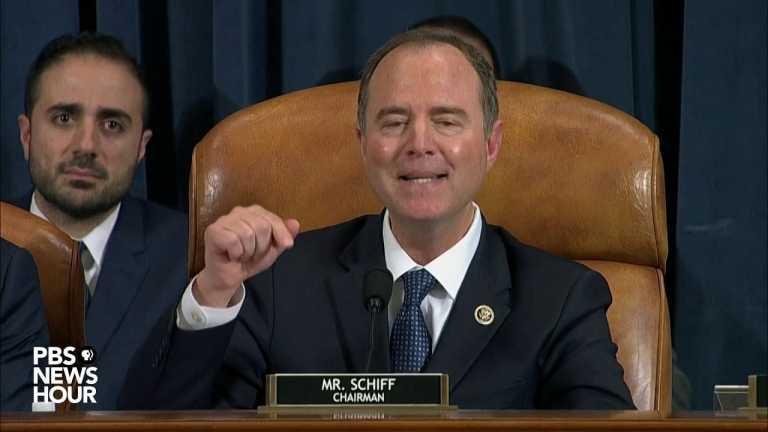 WATCH: Rep. Adam Schiff says GOP are upset because Trump got caught | Trump impeachment hearings