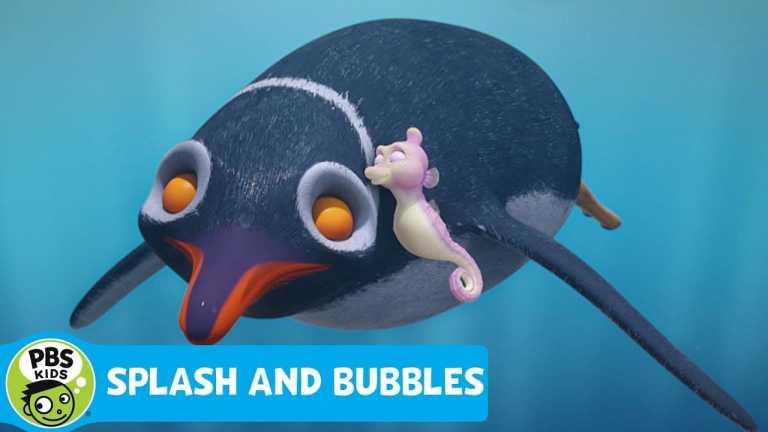SPLASH AND BUBBLES | Penguin Cuddles | PBS KIDS