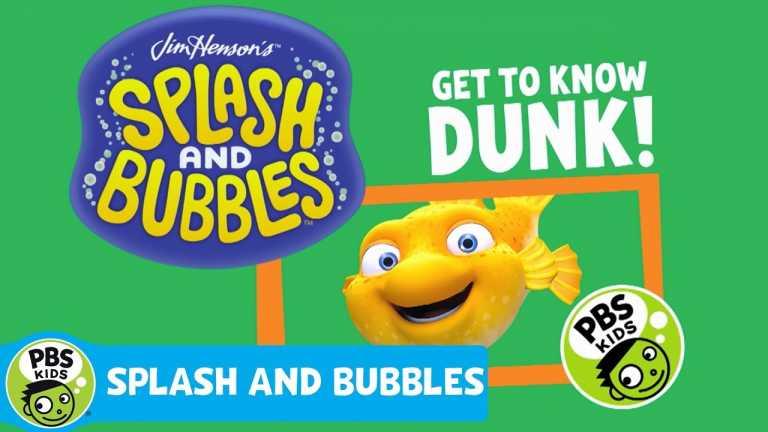 SPLASH AND BUBBLES | Meet Dunk! | PBS KIDS