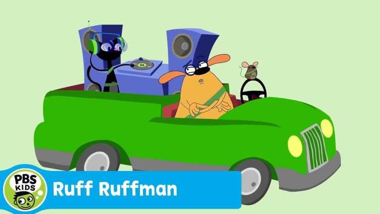 RUFF RUFFMAN | Just Drive! | PBS KIDS