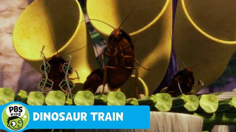 DINOSAUR TRAIN | The Cockroaches Song! | PBS KIDS