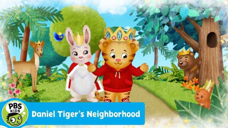 DANIEL TIGER'S NEIGHBORHOOD   Kings and Queens are Everywhere   PBS KIDS