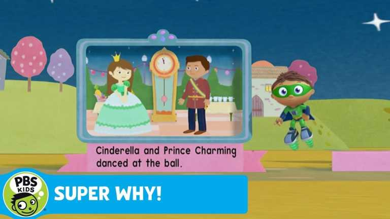 SUPER WHY! | Reading Cinderella, The Prince's Side of the Story | PBS KIDS