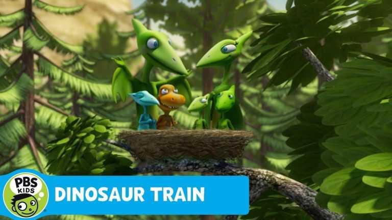 DINOSAUR TRAIN | Pteranodons Go On Vacation | PBS KIDS