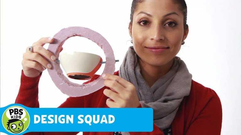DESIGN SQUAD | No Spill Bowl | PBS KIDS