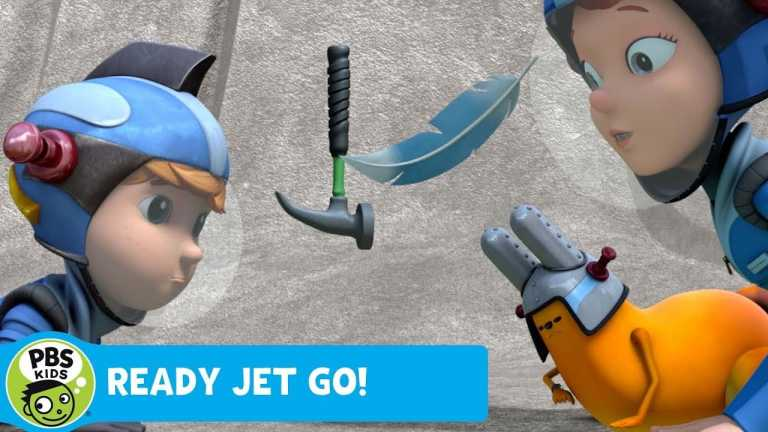 READY JET GO!   Our Atmosphere Experiment   PBS KIDS