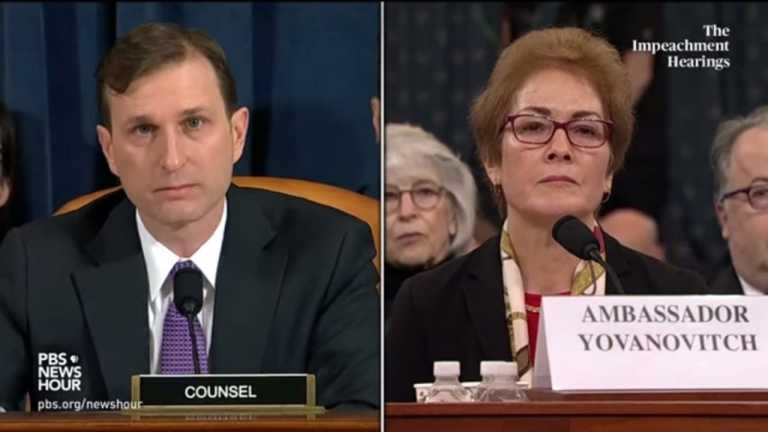 WATCH: Democratic counsel Daniel Goldman's full questioning of Amb. Marie Yovanovitch