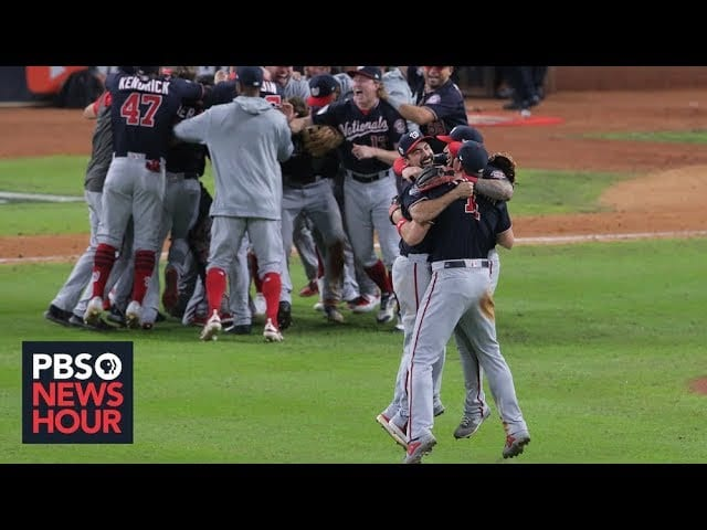 With World Series title, Washington Nationals cement their comeback season