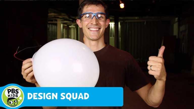 DESIGN SQUAD | Light Up Balloons | PBS KIDS
