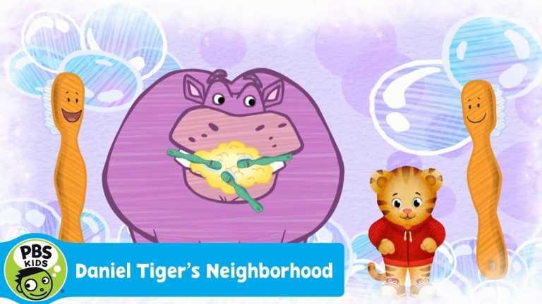 DANIEL TIGER'S NEIGHBORHOOD | Daniel's Teeth Brushing Song | PBS KIDS