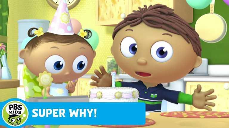 SUPER WHY! | Whyatt Makes a Birthday Cake | PBS KIDS