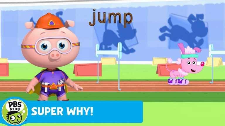 SUPER WHY! | Alpha Pig Helps Serena Jump | PBS KIDS