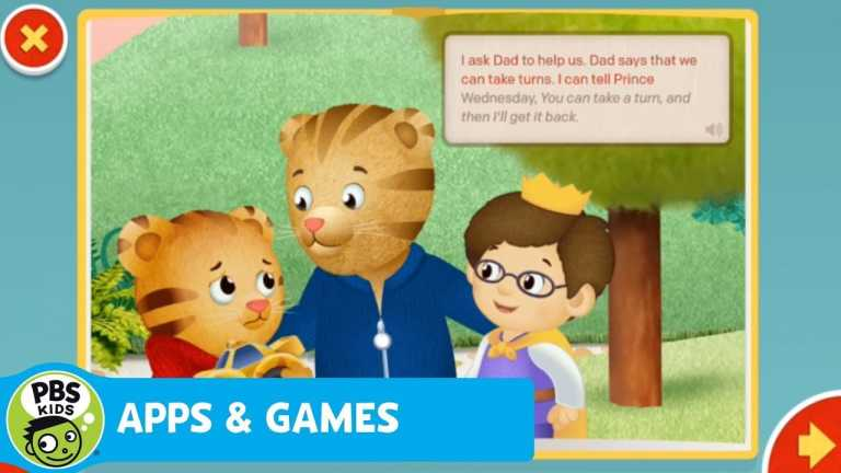 APPS & GAMES   Daniel Tiger Storybook App   PBS KIDS