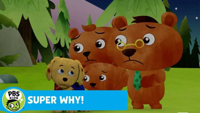 SUPER WHY! | The Three Bears Hear a Scary Noise | PBS KIDS