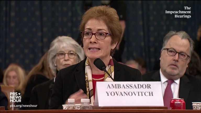 WATCH: Amb. Yovanovitch's full opening statement | Trump impeachment hearings