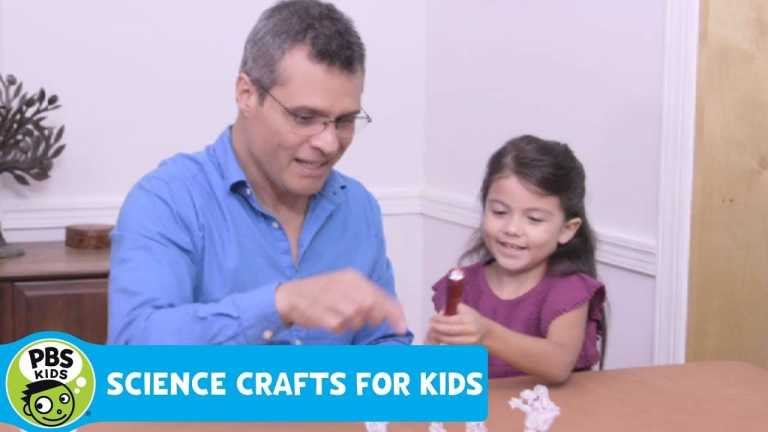 SCIENCE CRAFTS for KIDS | Shadow Play | PBS KIDS for PARENTS