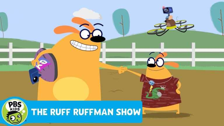 THE RUFF RUFFMAN SHOW | Pulling for the Plushie! | PBS KIDS