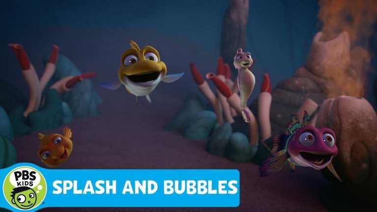 SPLASH AND BUBBLES | Underwater Volcano | PBS KIDS