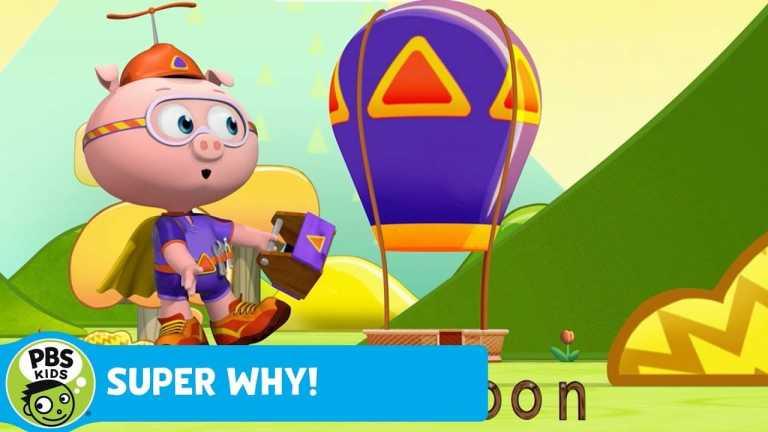 SUPER WHY!   Alpha Pig Builds a Hot Air Balloon   PBS KIDS