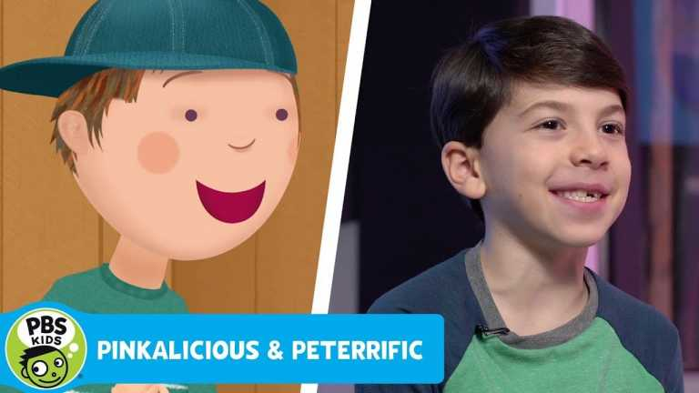 PINKALICIOUS & PETERRIFIC | Go Behind the Scenes with the voice of Peterrific! | PBS KIDS